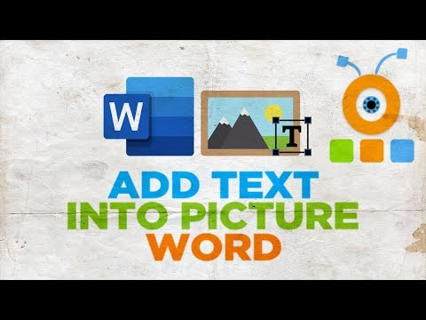 How to Add Text Into Picture in Word 2019 for Mac | Microsoft Office for macOS