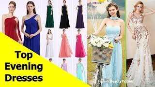 Top 50 beautiful Evening dresses with sleeves, long evening dresses for women S3
