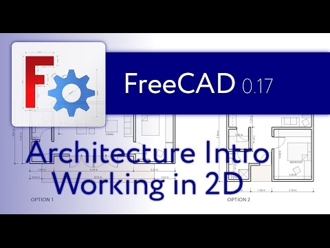 FreeCAD Architecture Intro - 01