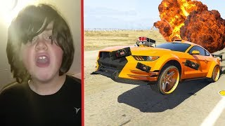 Streit mit Kind in GTA Online eskaliert.