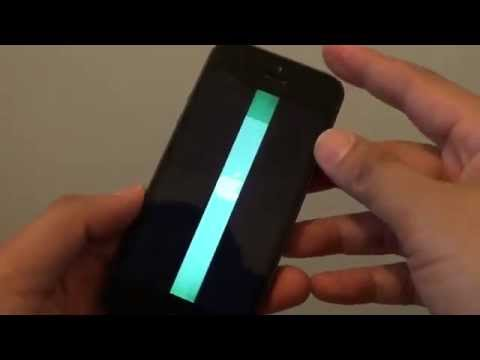 iphone 5c screen popped out how to fix vertical lines on iphone 5c unresponsive s 9231
