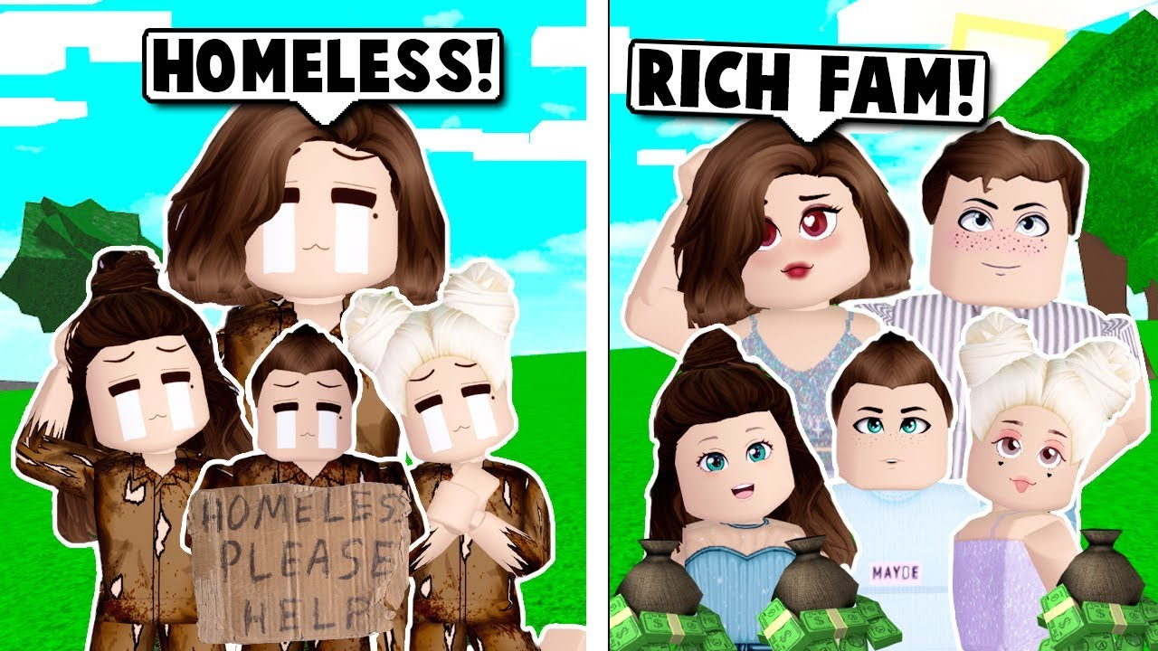 We Were Homeless Until I Married The Richest Man On Bloxburg