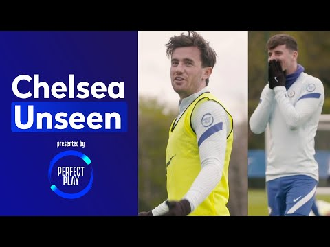 Ben Chilwell pulls off worldie SAVES v Mason Mount & Billy Gilmour 😱 | Chelsea Unseen
