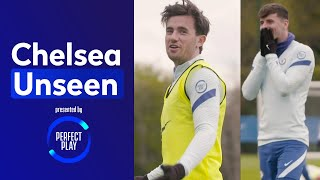 Ben Chilwell pulls off worldie SAVES v Mason Mount & Billy Gilmour 😱   Chelsea Unseen