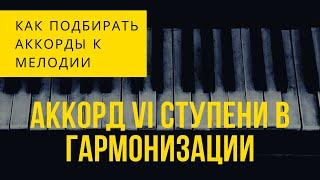 [Гармонизация мелодии ] Урок 2 - Трезвучие VI ступени