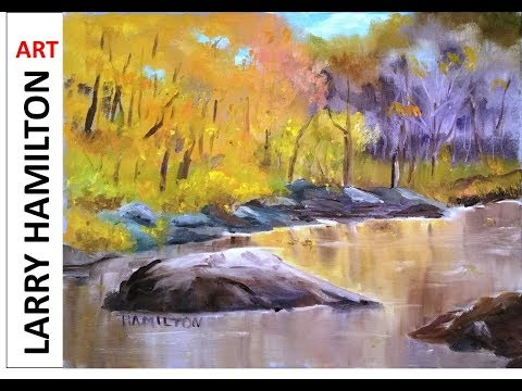 "Oil Painting with Larry Hamilton-Live-""Autumn in New Hampshire"" Oct 18, 2017"