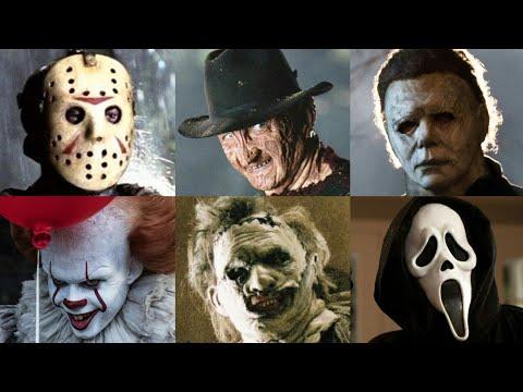Jason Voorhees vs Freddy Krueger vs Michael Myers vs IT Pennywise vs Leatherface vs Ghostface