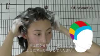 達人來教你!洗髮技巧vol.1 [Ofcosmetics] [Of HAIR]