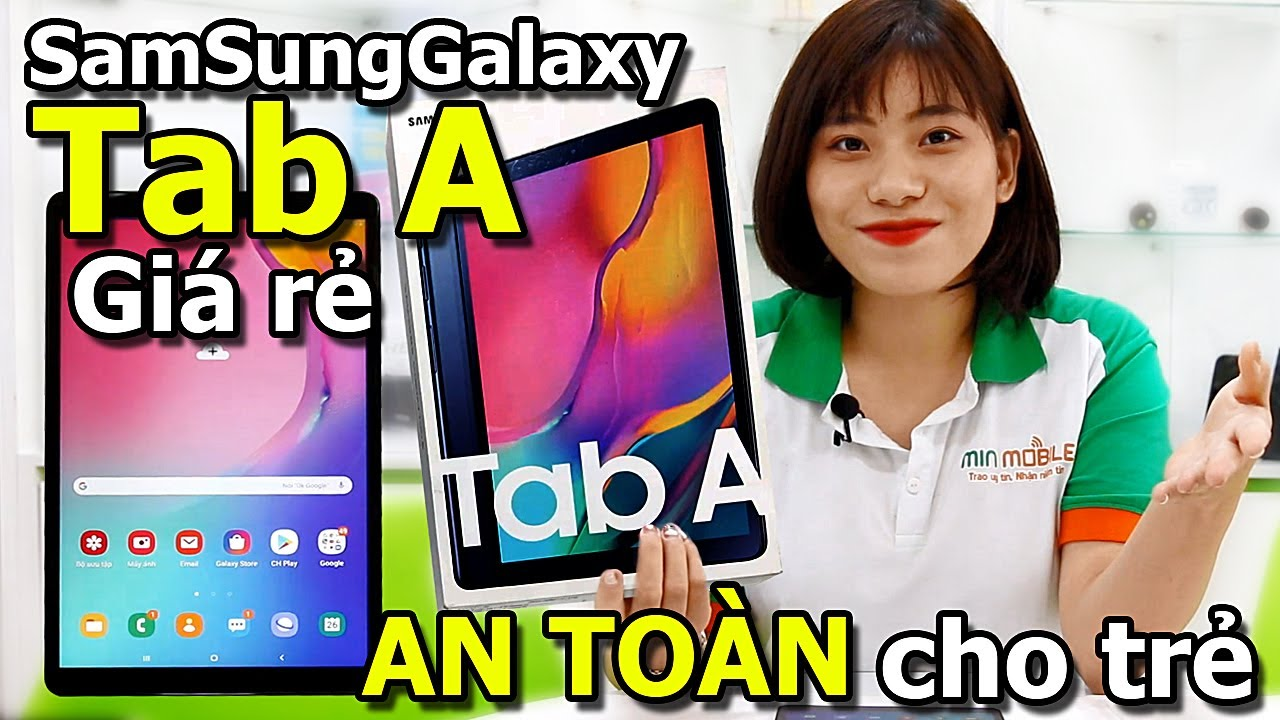 Giới thiệu Samsung Galaxy Tab A 10.1 (2019|T515) xách tay Hàn Quốc