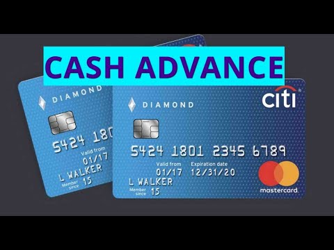 How to cash advance in CITIBANK credit card? - YouTube