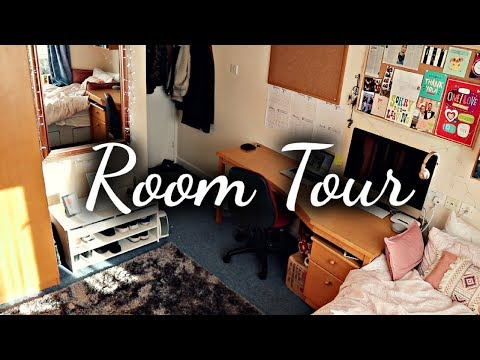 University Dorm Room Tour + Organisation Tips! 2018