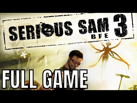 Serious Sam 3: BFE - Full Game Walkthrough (No Commentary Longplay)