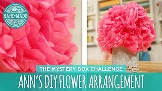 Ann's Diy Flower Arrangement - Hgtv Handmade Mystery Box Challenge