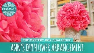 Ann's Diy Flower Arrangement - Hgtv Handmade Mystery Box Challenge