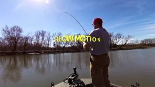 watch the rod tip in slow motion crappie soft strike