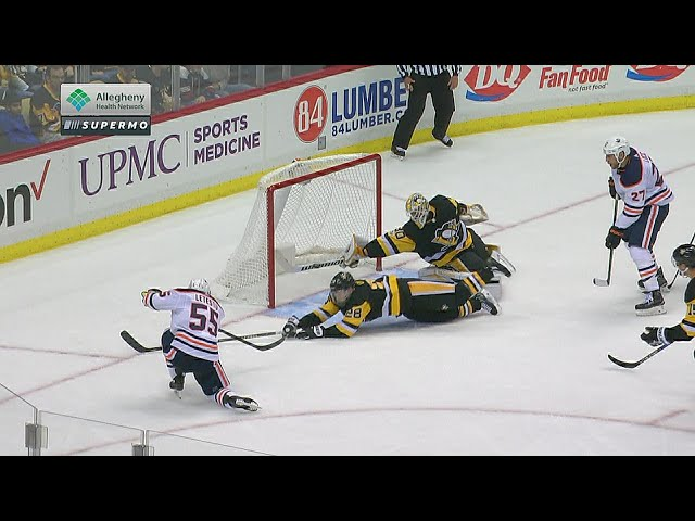 Matt Murray reaches back for amazing stick save