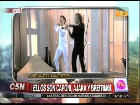 C5N - VIVA LA TARDE:  ENTREVISTA AL ELENCO DE