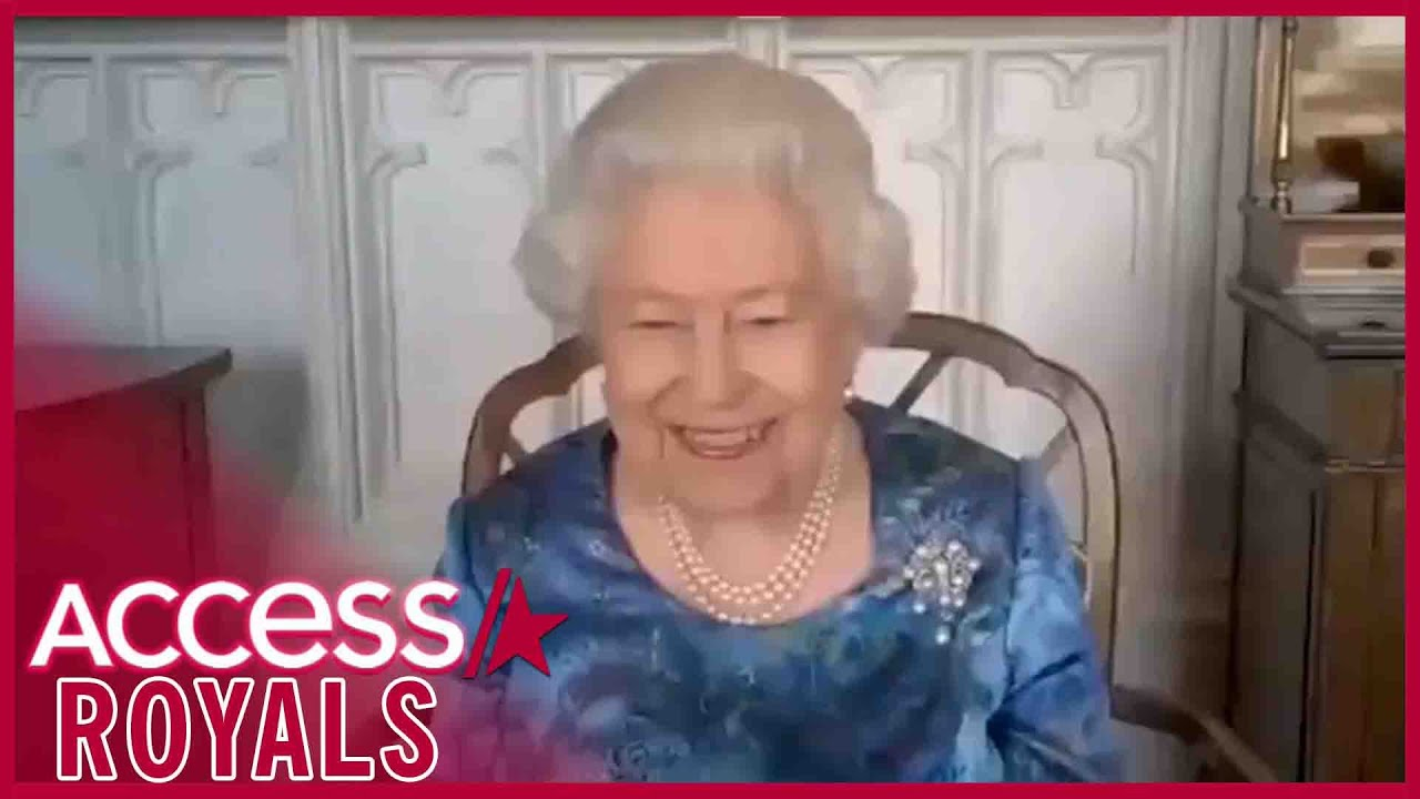 Queen Elizabeth Gets The Giggles On Video Call