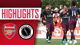 GOALS, GOALS, GOALS! | Arsenal 8-0 Boreham Wood | Pre-season highlights