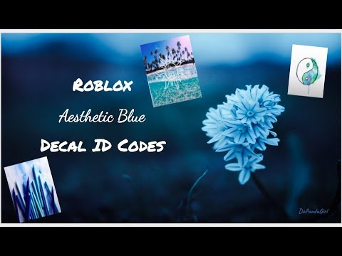Pastel Cute Roblox Icon Blue Roblox Aesthetic Blue Decal Id Codes Youtube