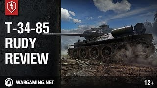 WoT Blitz. T-34-85 Rudy Review