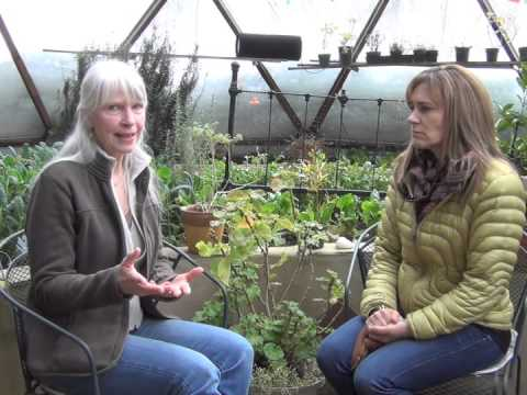Heather's Health Talk: Geodesic Grow Dome, Winter Gardening in New Hampshire