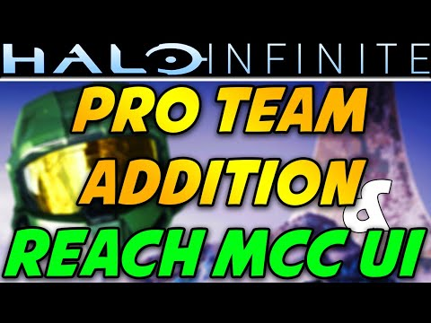 Halo Infinite New Pro Team! Halo MCC on PC Release Date? Preview of Halo Reach Campaign UI on MCC! thumbnail