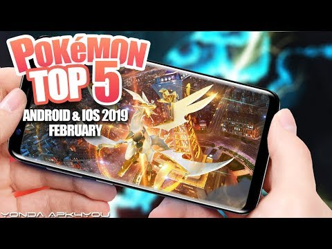 Top  Pokemon Games February  - Android IOS Gameplay