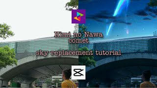 Download lagu Kimi No Na wa sky replacement Video Editing tutorial for Mobile Phones