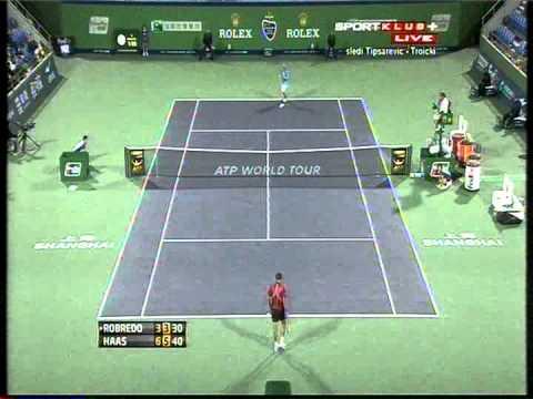 Tommy Haas vs Tommy Robredo - ATP Masters Shanghai 2012. Last Game (bojan svitac)
