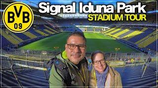 """Signal Iduna Park """"Stadium Tour"""" El Estadio del Borussia Dortmund!🇩🇪"""