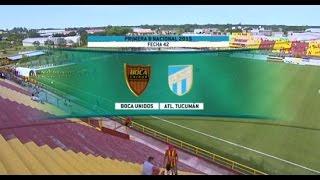 Fútbol en vivo. Boca Unidos - Atl. Tucumán. Fecha 42 Primera B Nacional2015. FPT.