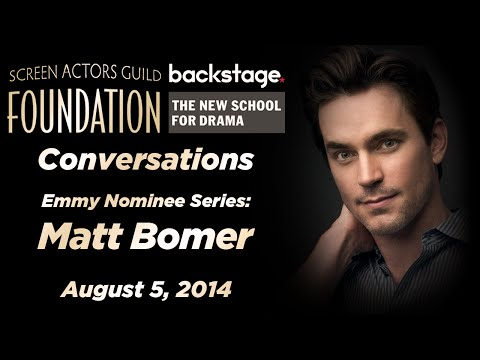 Conversations with Matt Bomer