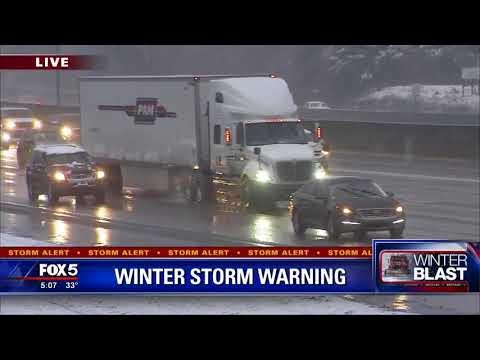 Gwinnett County snow