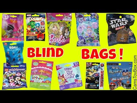 Blind Bags Opening Toys Lalaloopsy Trolls Littlest Pet Shop Barbie Disney Lego Finding Dory - 동영상