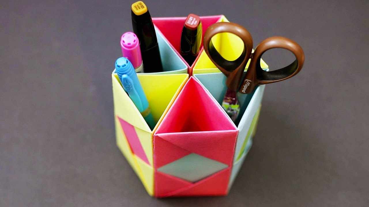 Diy Craft Pen Holder