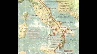 ESPARTACO vs MARCO LICINIO CRASO (113 a.c.) Pasajes de la historia (La rosa de los vientos)