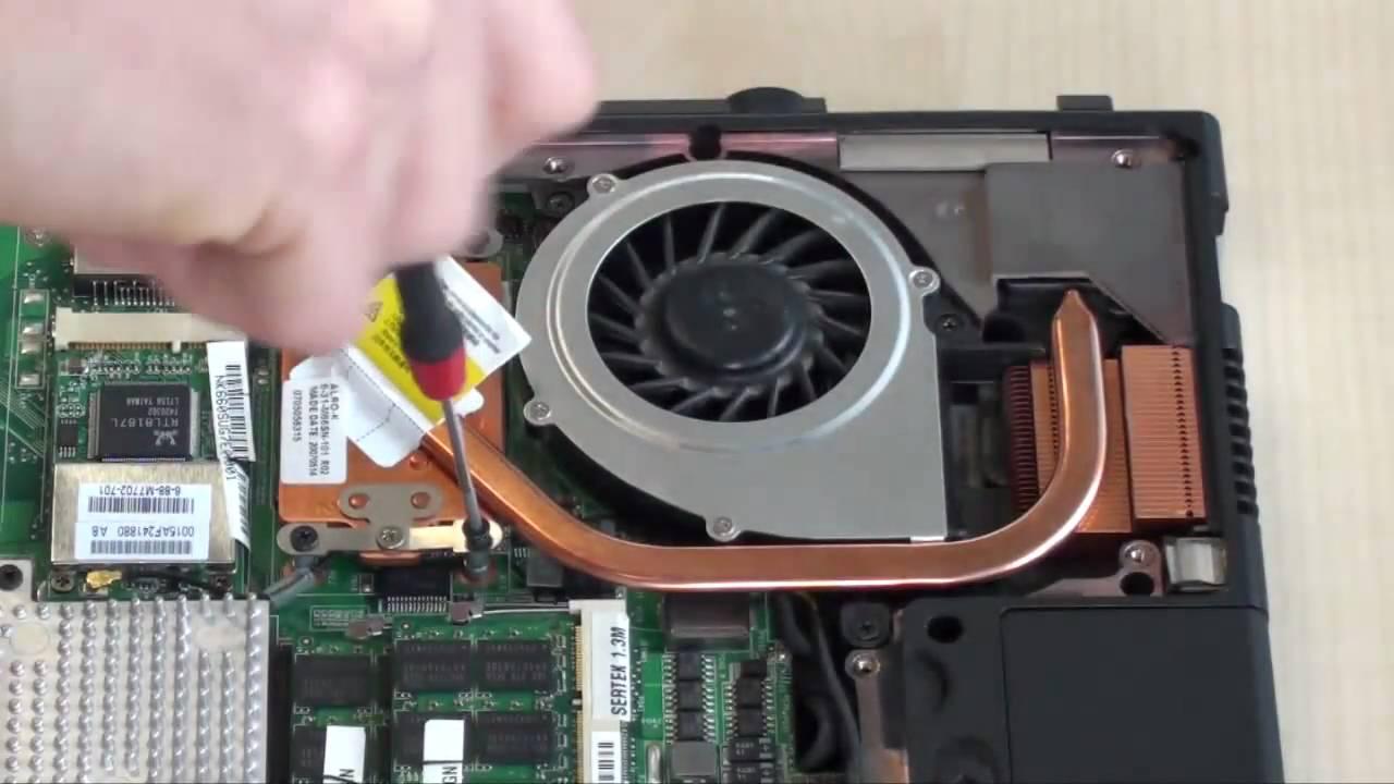 Laptop CPU Replacement