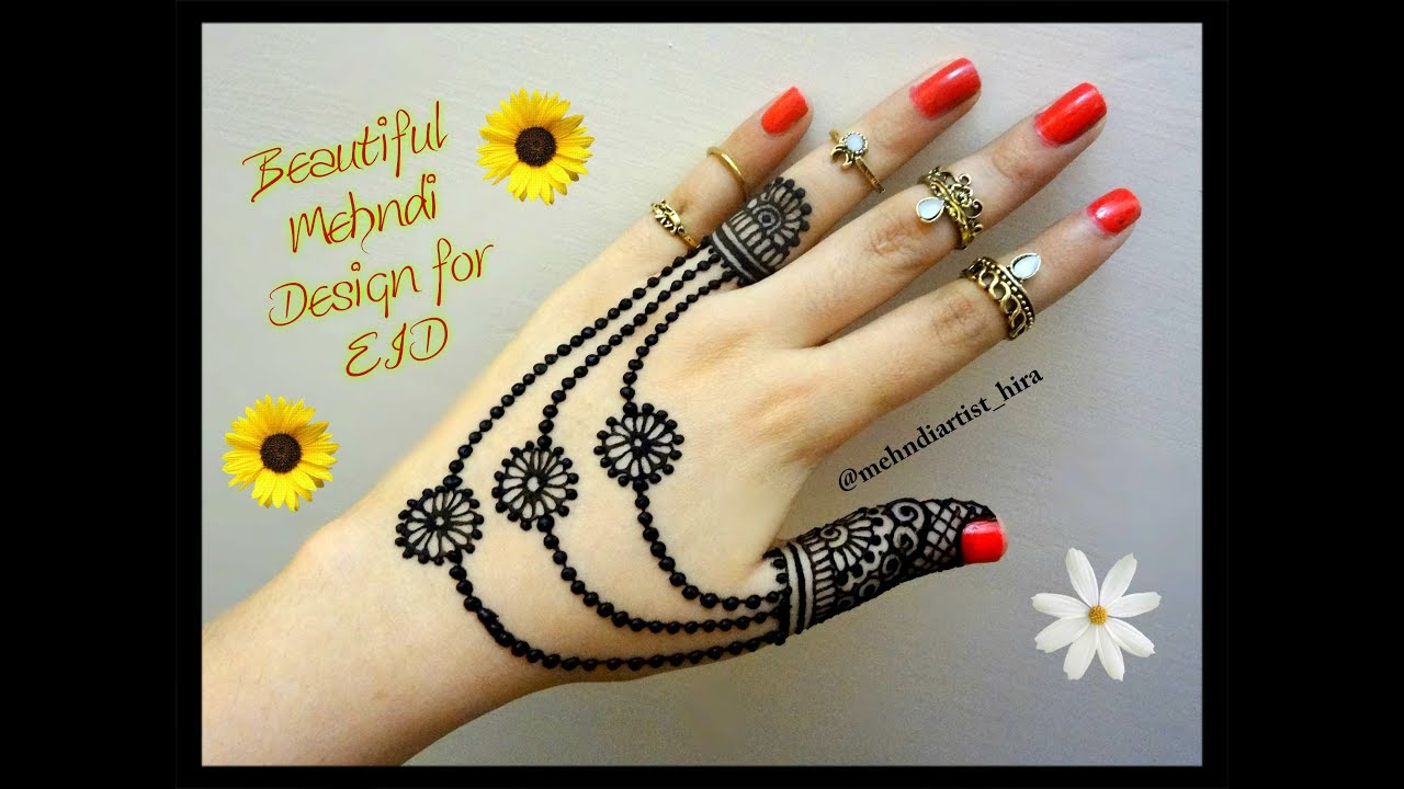 Easy Mehndi Tutorial : Easy mehndi designs great img home hand with