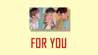 Gambar cover [COVER] EXO (엑소) - Chen (첸), Baekhyun (백현) & Xiumin (시우민) - For You (너를 위해) ENGLISH VER.