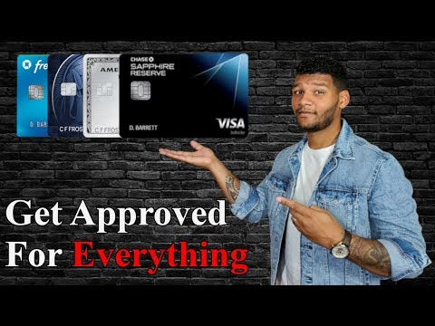 How To Get Approved For Any Credit Card