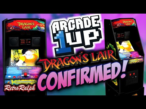 Arcade1up - CES 2021 - Dragon's Lair - CONFIRMED! from Retro Ralph