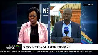 VBS Mutual Bank depositors react