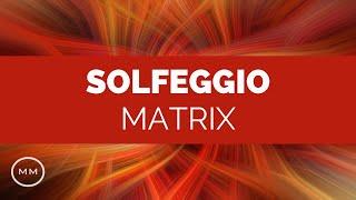 Solfeggio Matrix - All 9 Tuning Forks Simultaneously - Binaural Beats
