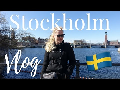 STOCKHOLM, SWEDEN VLOG: Old Town, Swedish Meatballs