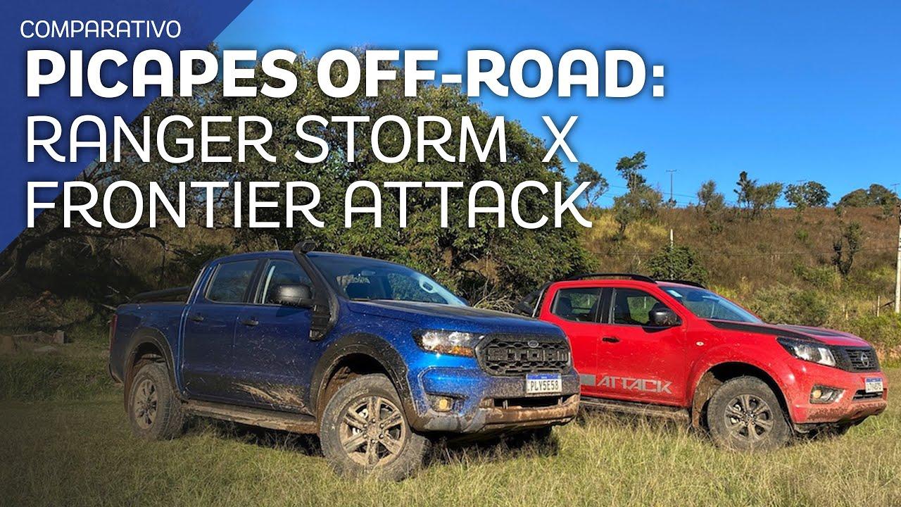 Comparativo: Ranger Storm e Frontier Attack fazem duelo no campo