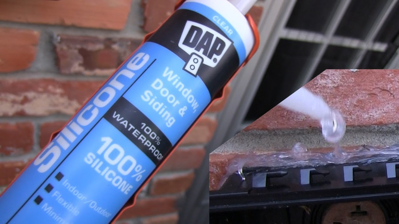 Product Demo: DAP Silicone sealant, clear