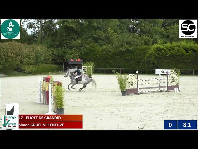 Eliott de Grandry - Grand Prix 120 Auvers - (11e)