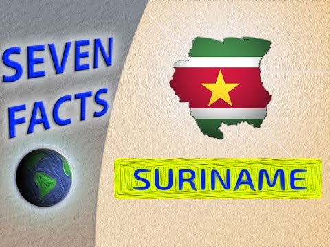 Some facts about amazing Suriname
