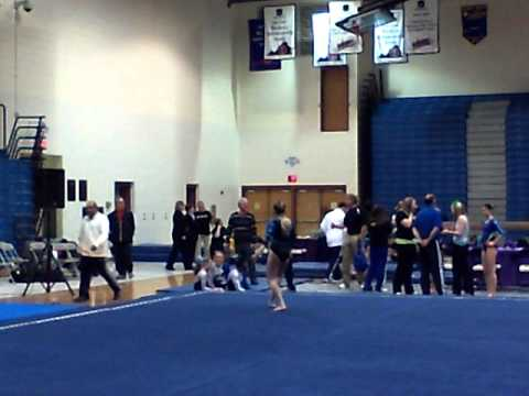 Brittany's Level 7 2011 State Championship Floor Routine
